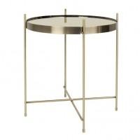 Foto van Side table cupid gold