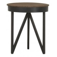 Foto van Coffee table round high FD