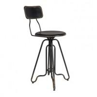 Foto van Counter stool Ovid black