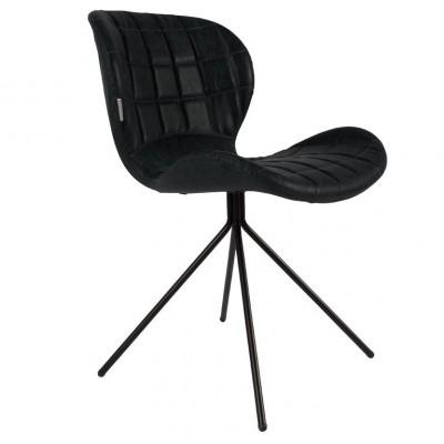 Chair OMG black LL (set van 2)