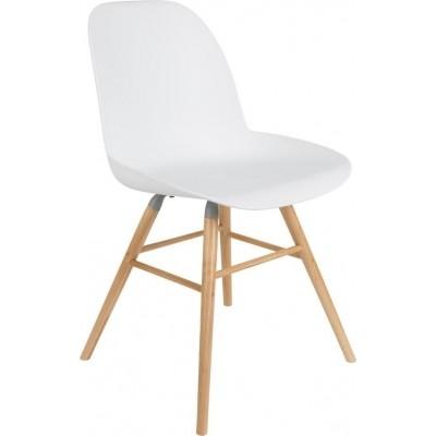 Albert kuip chair white 2 st.