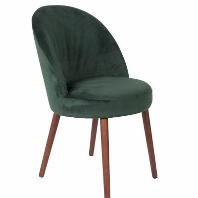 Barbara chair green - set van 2