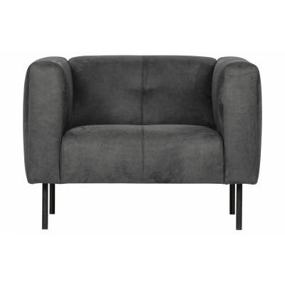 Skin Vt Wonen fauteuil donkergrijs Gratis levering NL