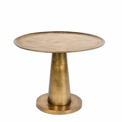 Brute side table - brass
