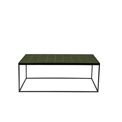 Glazed salontafel groen