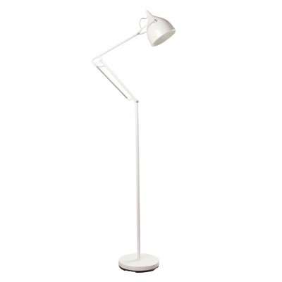 Reader floorlamp white