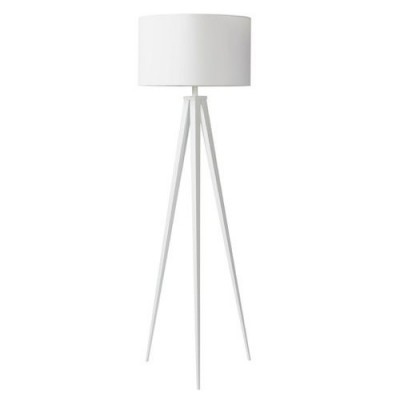 Tripod floorlamp white