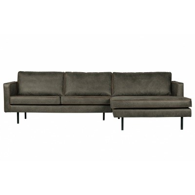 Rodeo chaise longue rechts - army green