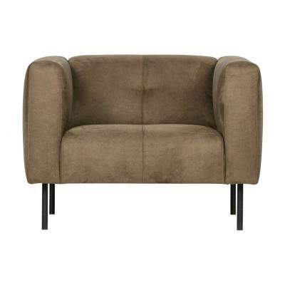 Skin Vt Wonen fauteuil olijfgroen Gratis levering NL