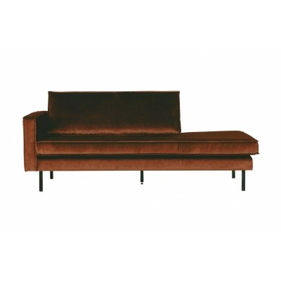 Rodeo velvet daybed links - roest
