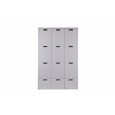Vt Wonen store kast 3-deuren + 3 lades grijs
