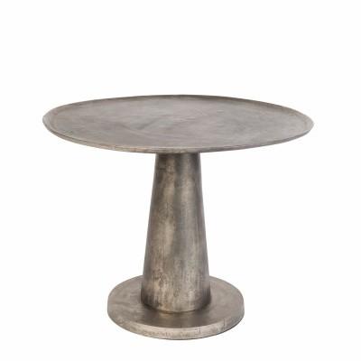 Brute side table - nickel