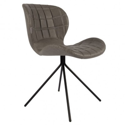 Chair OMG grey LL (set van 2)