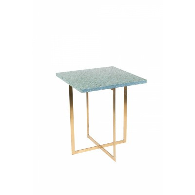 Luigi side table square green