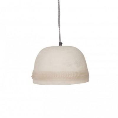 Dawn uni hanglamp bewerkte rand off white