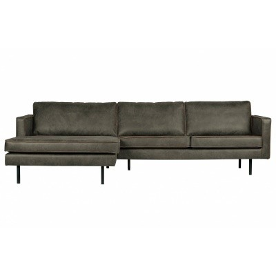Rodeo chaise longue links - army green