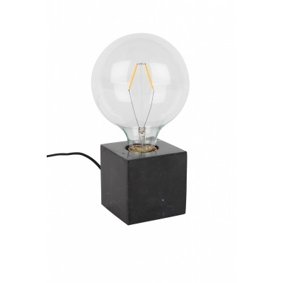 Bolch Table lamp marble black
