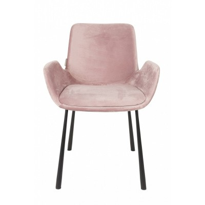 Brit armchair pink set van 2