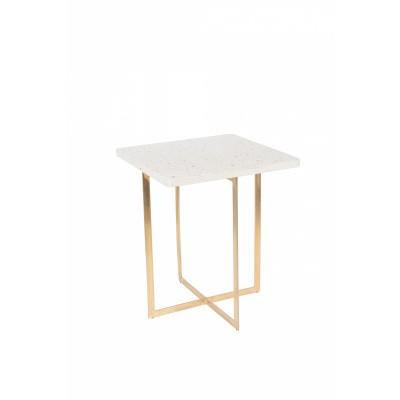 Luigi side table square white