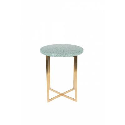 Luigi side table round green
