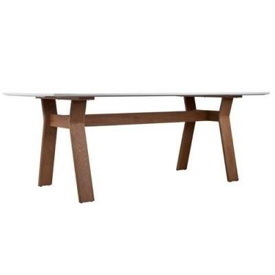 Table High on wood 200 x 90 cm