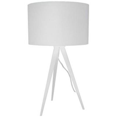 Tripod table lamp white