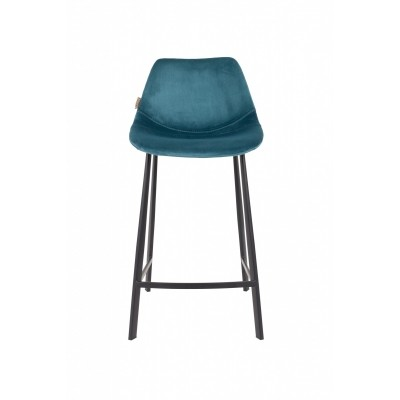 Franky counter stool - petrol - set van 2