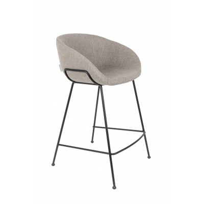 Feston counter stool grey - set van 2