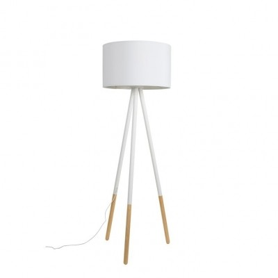 Highland floorlamp white