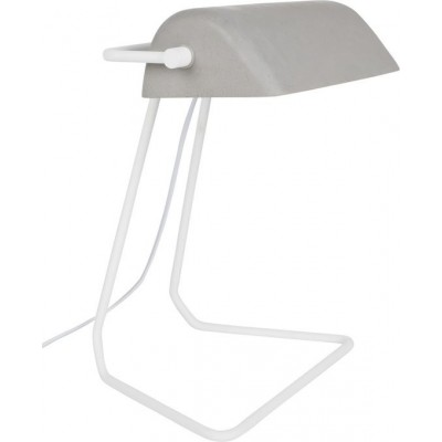 Broker table lamp grey