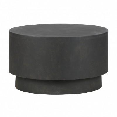 Dean salontafel medium betonlook bruin 34xø60