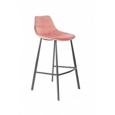 Franky bar stool - old pink - set van 2