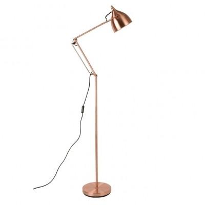 Reader floorlamp copper