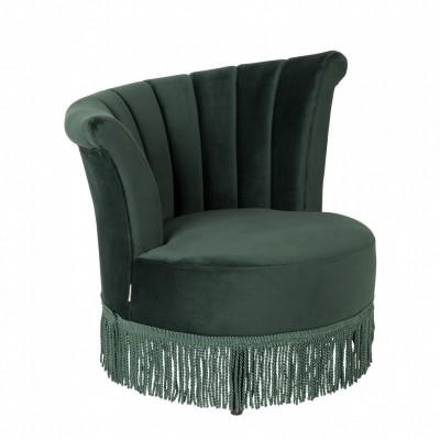 Flair lounge chair dark green
