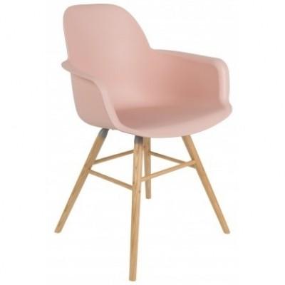 Albert kuip arm chair old pink 2 st.