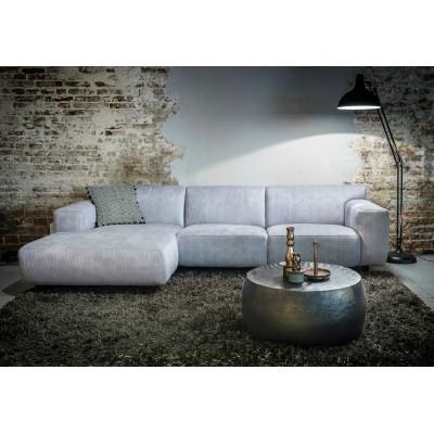 Hoekbank Chaise Lounge.Nova Bank 2 5 Chaise Longue Linksvoorstaand Hombre Silver