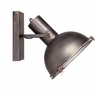 Spotlight wandlamp metaal