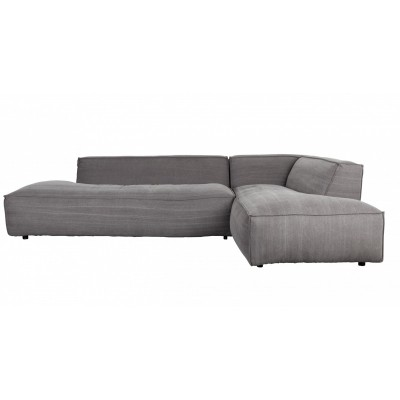 Sofa Fat Freddy rechts stone grey 67