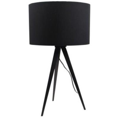 Tripod table lamp black