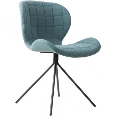 Chair OMG blue (set van 2)