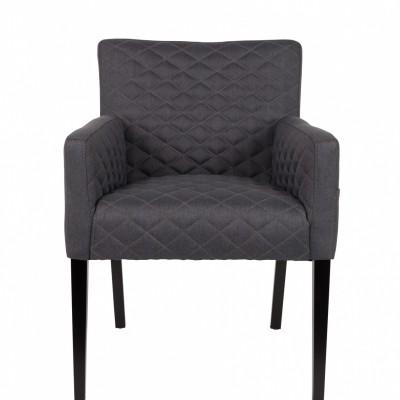 Aaron armchair charcoal
