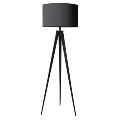 Tripod floorlamp black