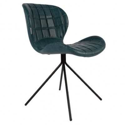 Chair OMG petrol LL (set van 2)