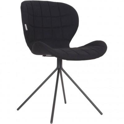 Chair OMG black (set van 2)