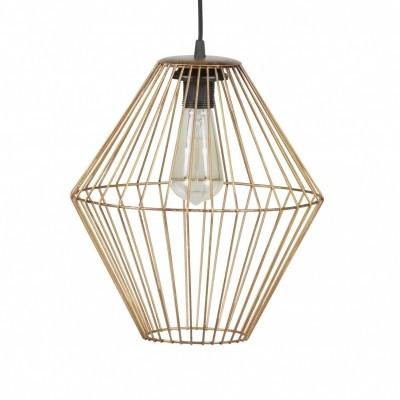 Elegant hanglamp metaal brass XL