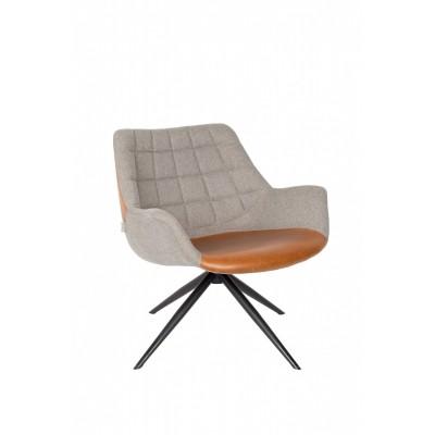 Doulton lounge chair bruin