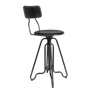 Counter stool Ovid black