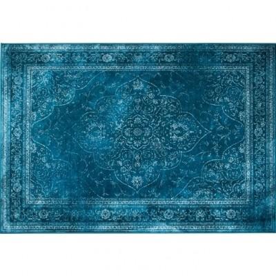 Rugged carpet blauw 200 x 300 cm