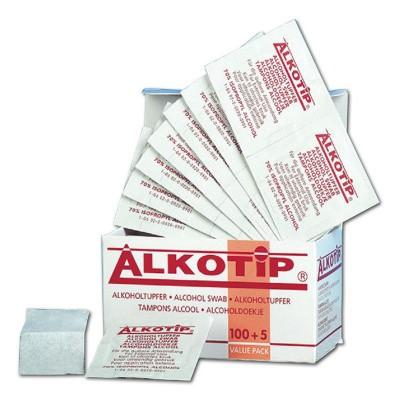 Foto van Alkotip alcoholdoekjes desinfecterend 100stuks per stuk verpakt