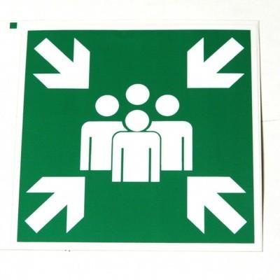 Foto van Verzamelplaats sticker